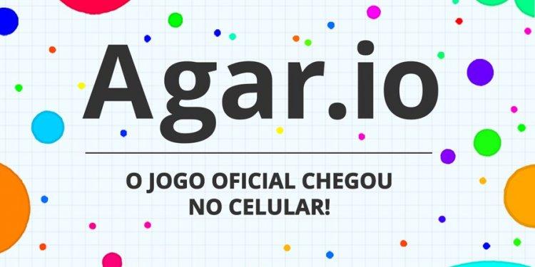 Viciante chamado Agar.io