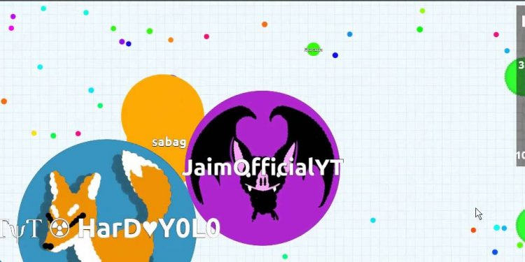 Split tricks Agar.io Lp#4