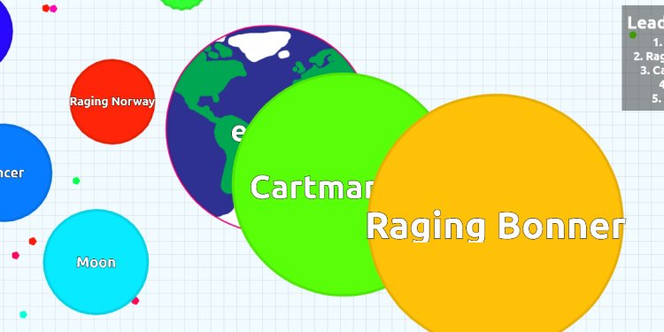 Browser game Agar.io