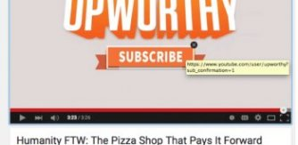 Upworthy YouTube subscribe CTA